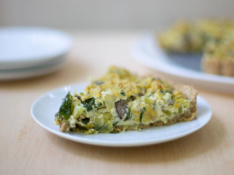 Tofu Quiche Recipe