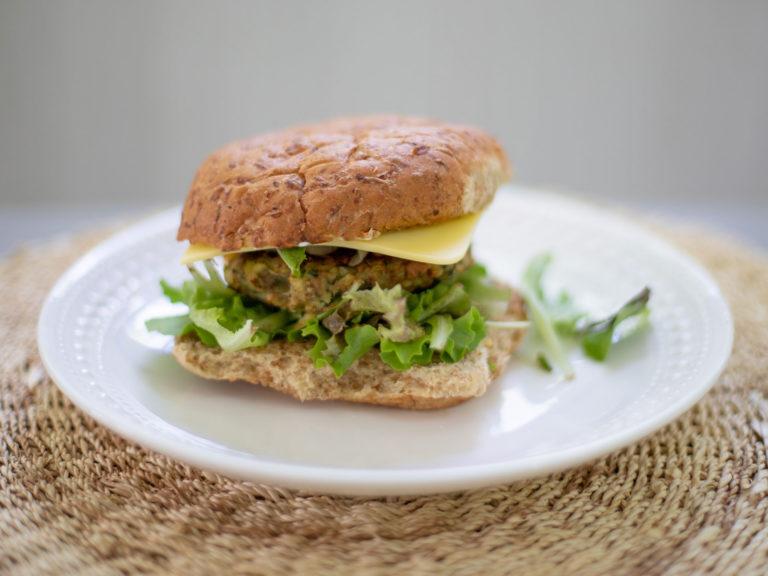 White Bean Veggie Burger Recipe